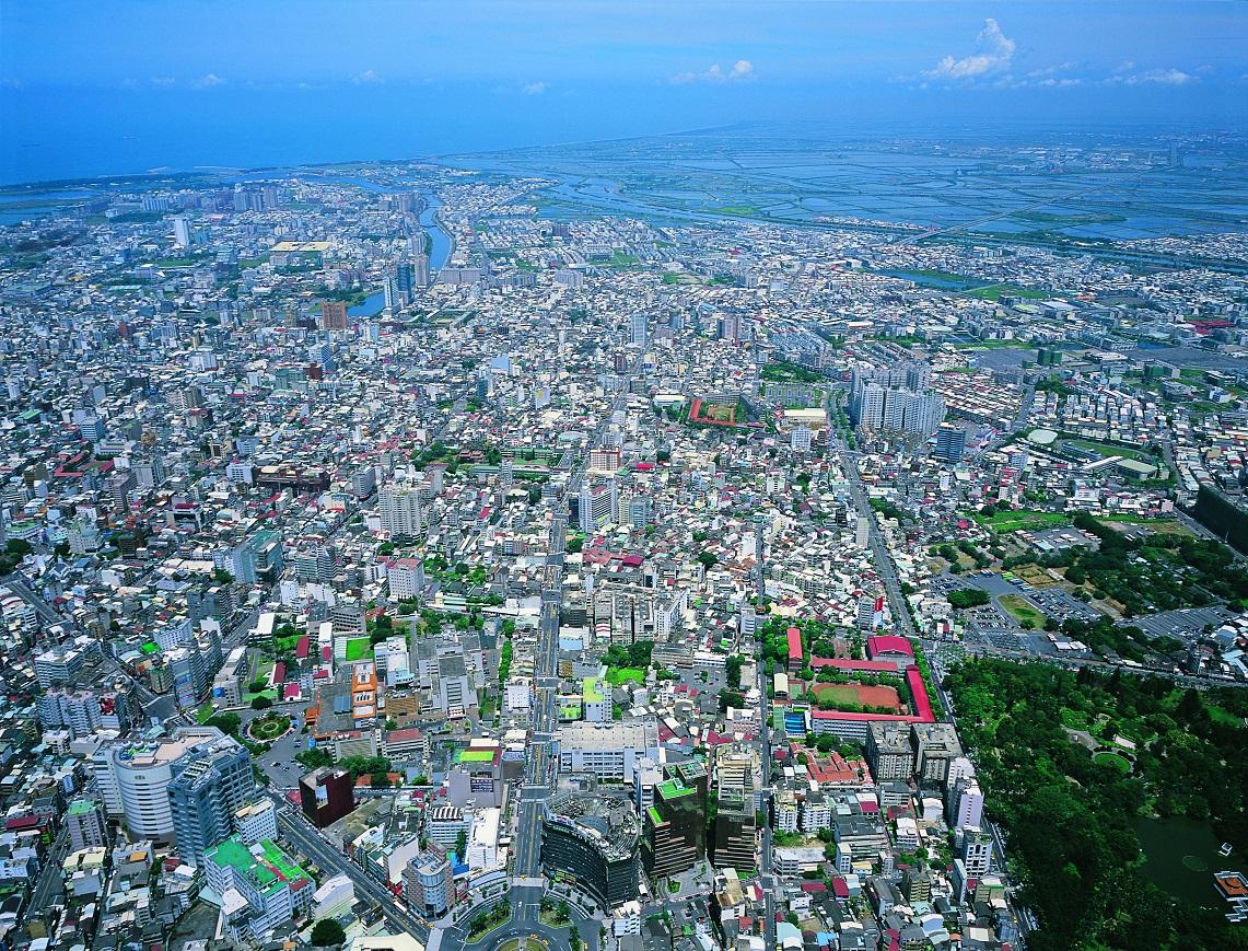 臺南市區都市發展實景