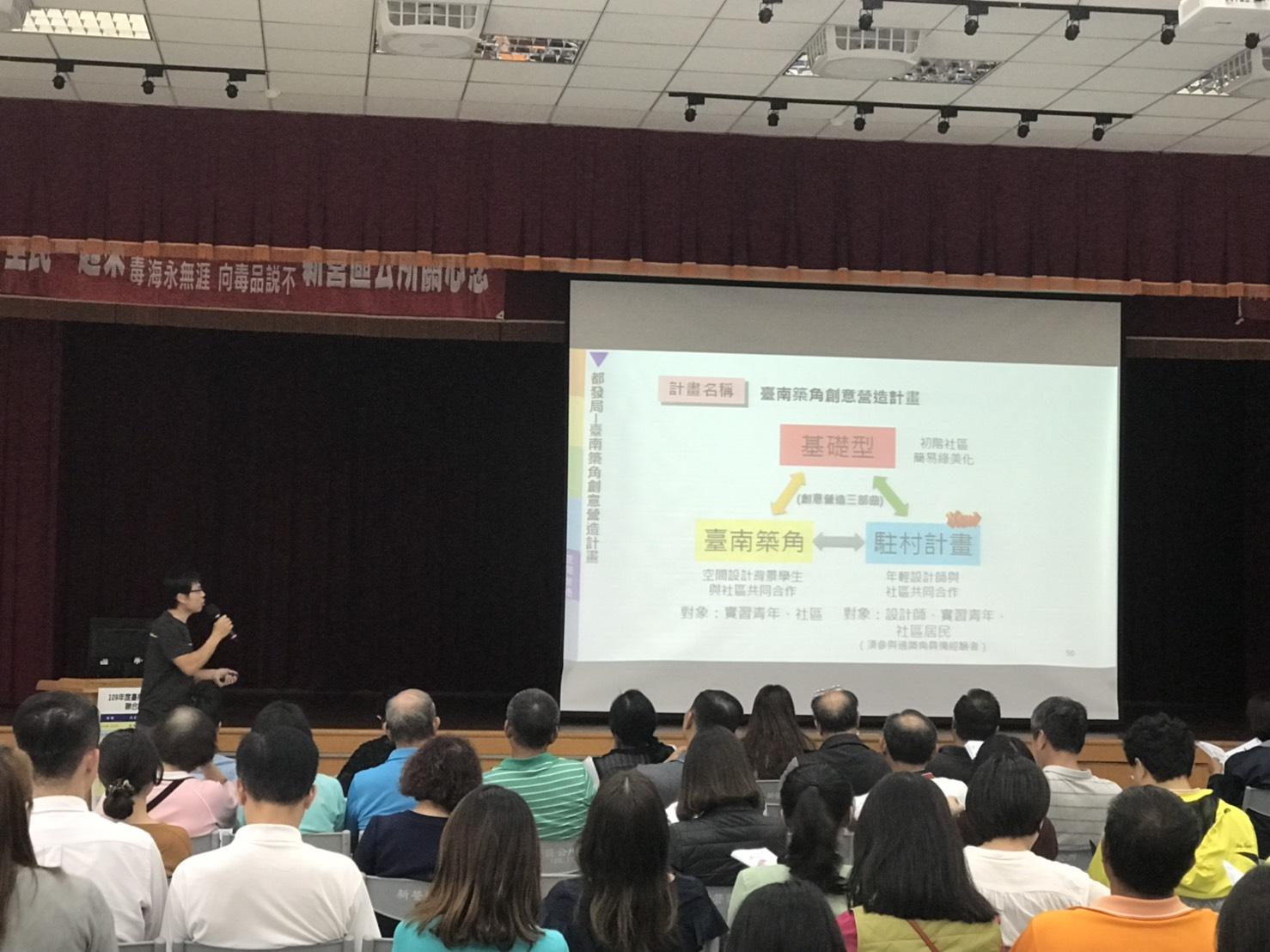 臺南築角創意營造計畫案執行流程說明