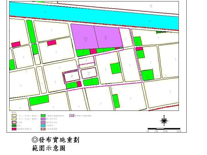 「變更台南市安南區(海佃路一段東側地區)細部計畫(修訂重劃範圍書圖不符及事業及財務計畫、土地使用分區管制計畫)案」發布實施  1