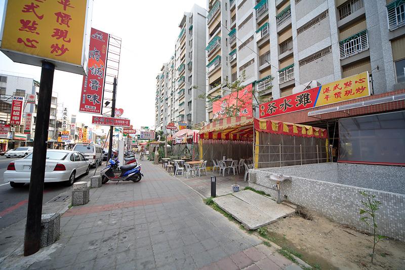 大林新城國宅店舖與法定空地違規整頓工  0