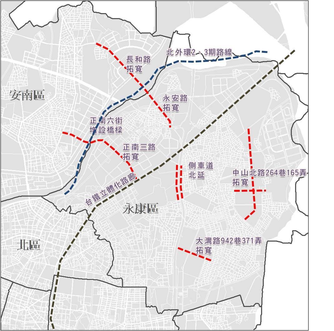 永康都市計畫近期規劃增設之道路系統.jpg