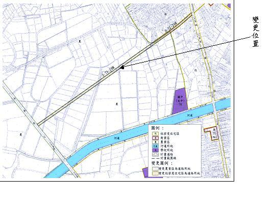 安南區同安路延伸至安明路段之都市計畫變更案經內政部都委會審議通過  0