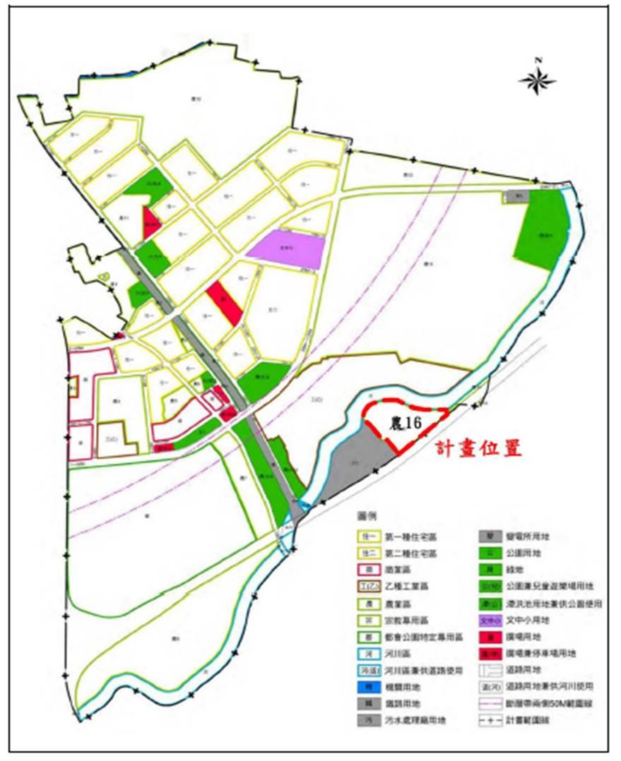「變更臺南都會公園特定區計畫(部分農業區為污水處理廠用地)案」變更位置示意圖.jpg