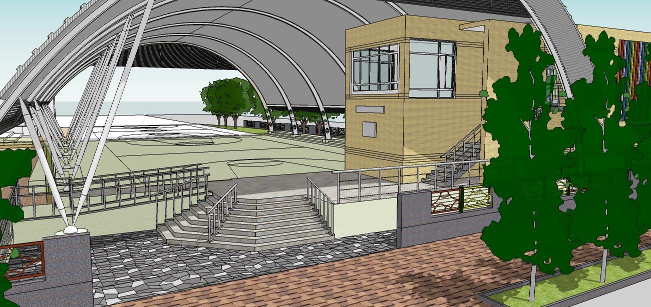 台南市志開國小風雨球場整建工程通過都市設計審議  1