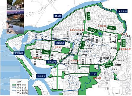 打造綠水文化觀光城,近四年來都市計畫公園綠地增加250餘公頃  0