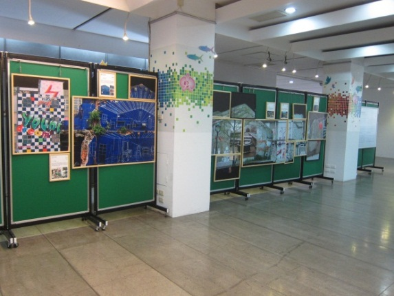海安路藝術造街10年展,續在市府民治中心展出  1