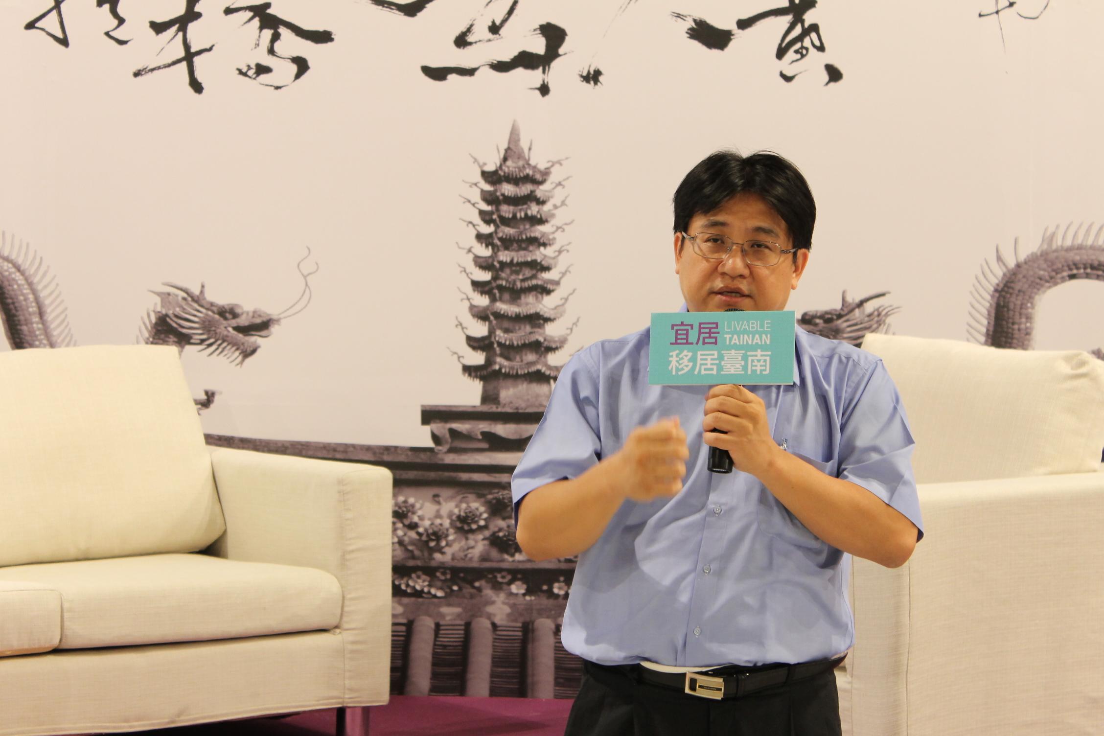 「2013宜居‧移居臺南博覽會」小開幕儀式,點亮適宜居住之未來城市遠景  1