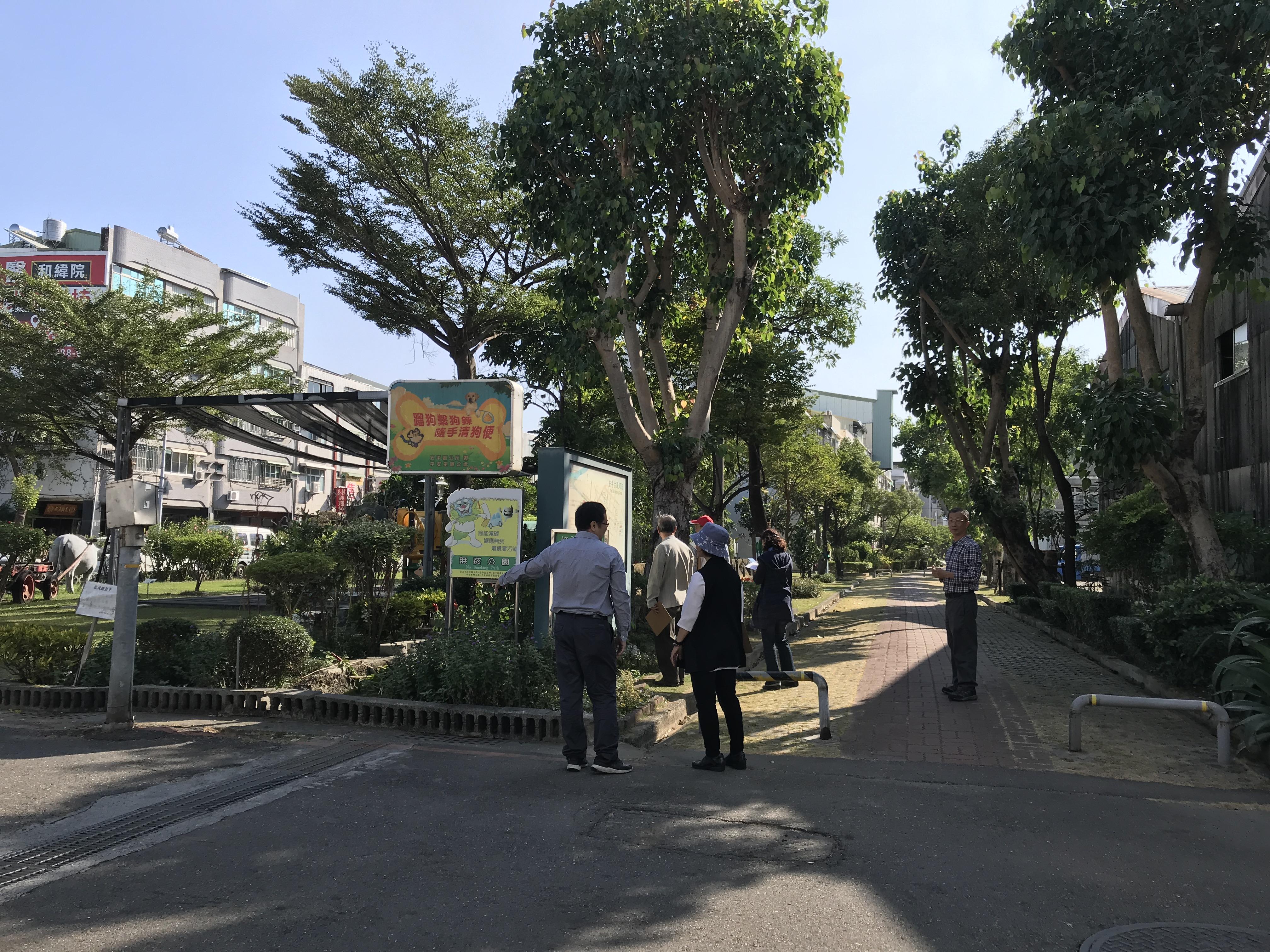 公共及社區景觀類第四名-安平區公所「古運河綠色隧道」