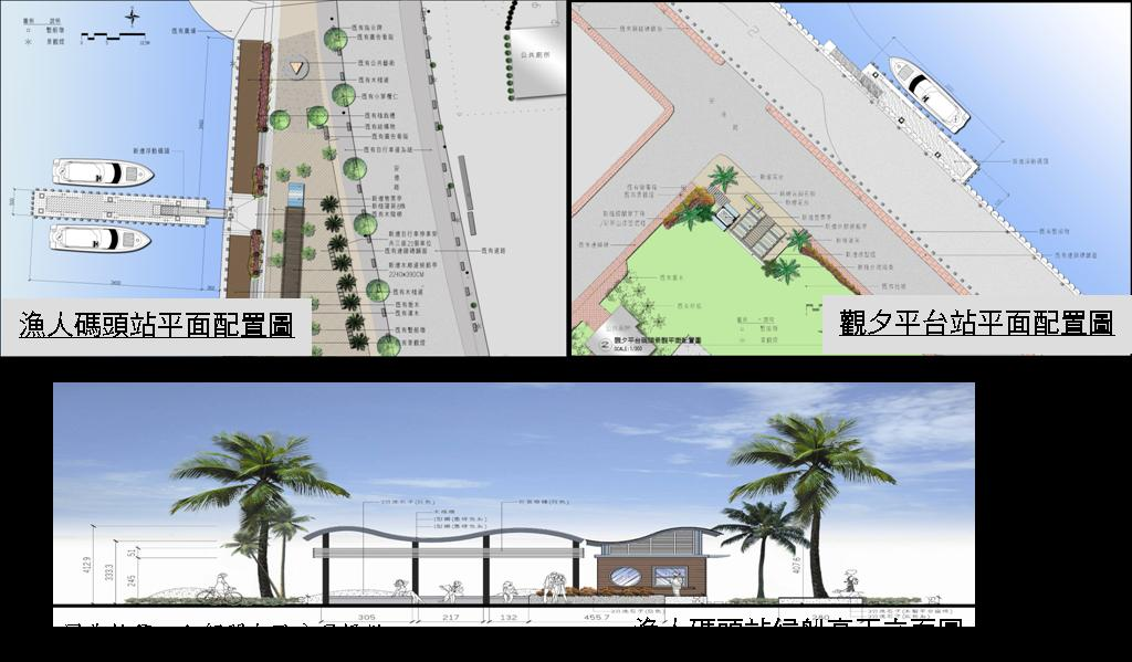 安平港客船碼頭興建工程通過本市第九屆第六次都市設計審議  0