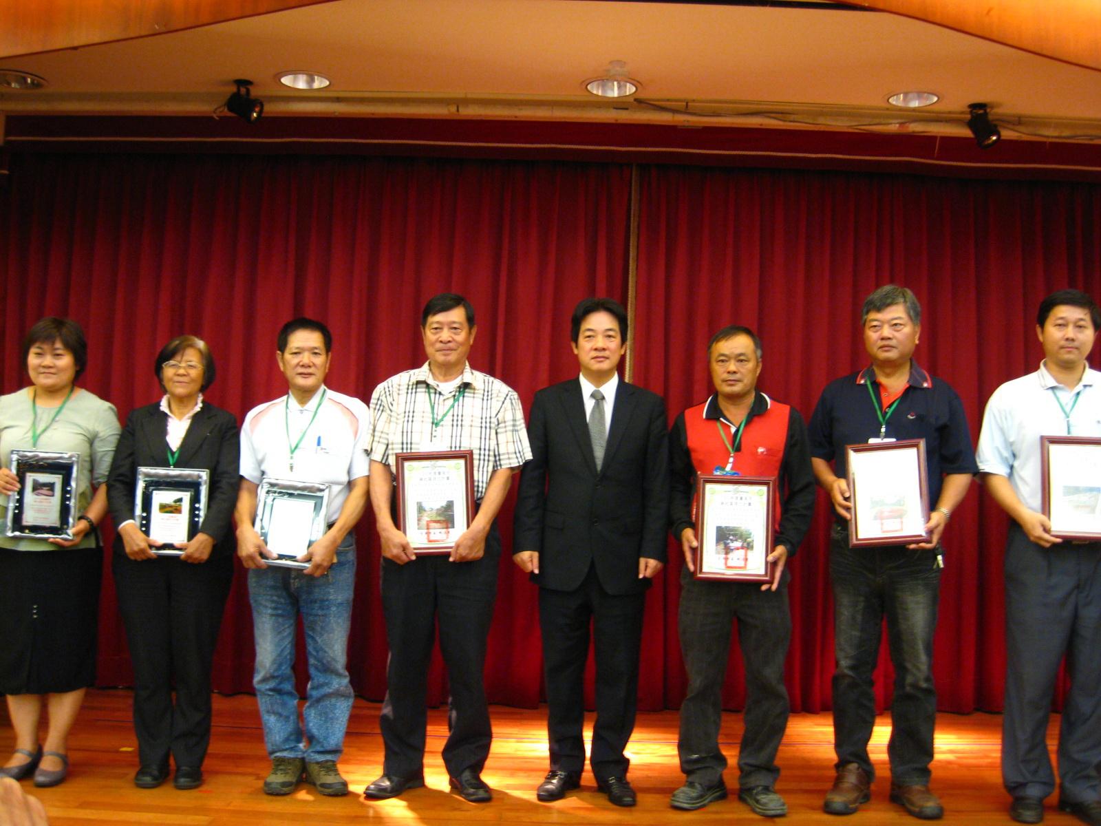 培力綠色社區,打造永續家園!臺南市社區營造座談會暨100年度社區環境改造成果發表會  1