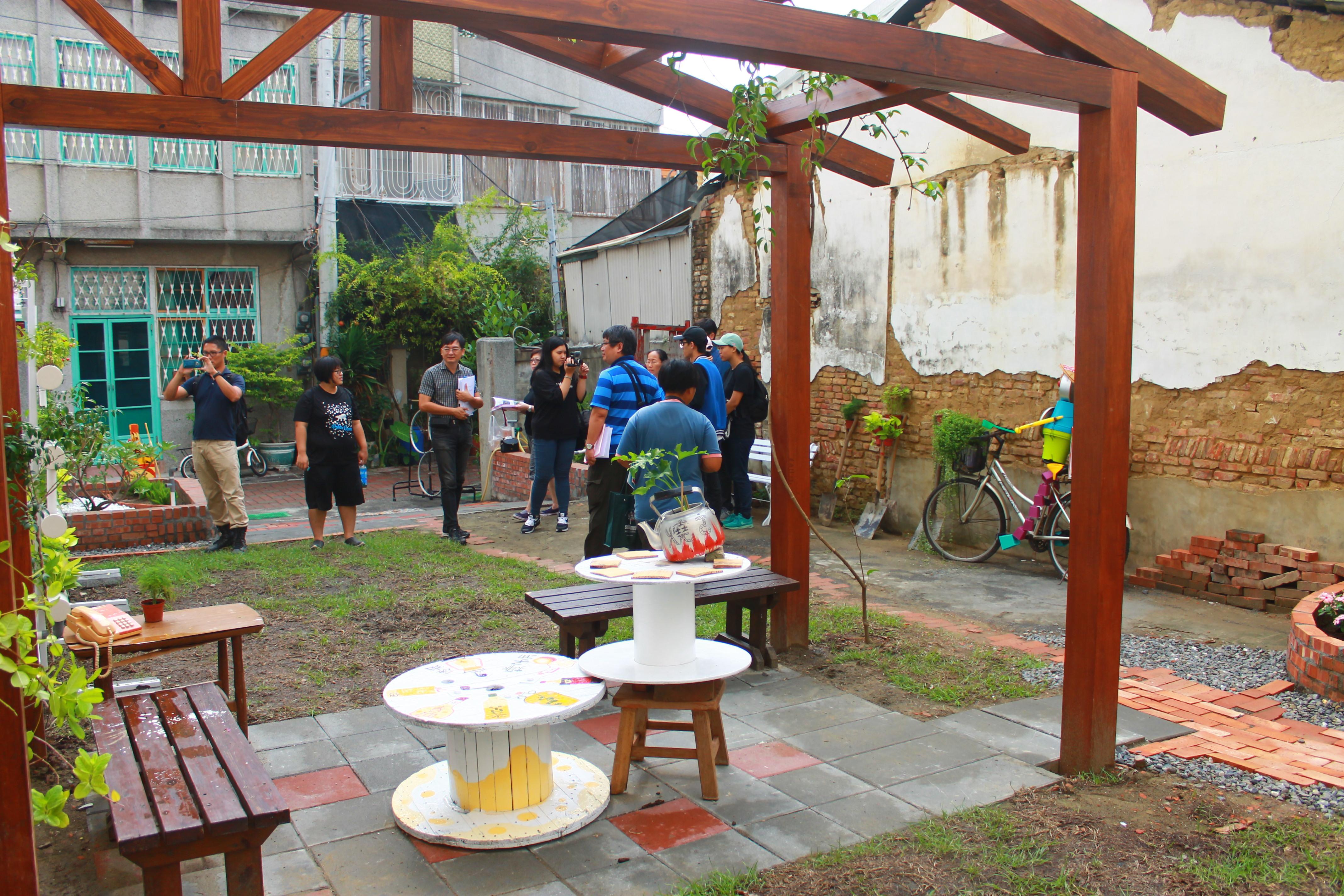 臺南築角創意營造計畫每年均有優良成果,社區也秉持熱忱持續維護