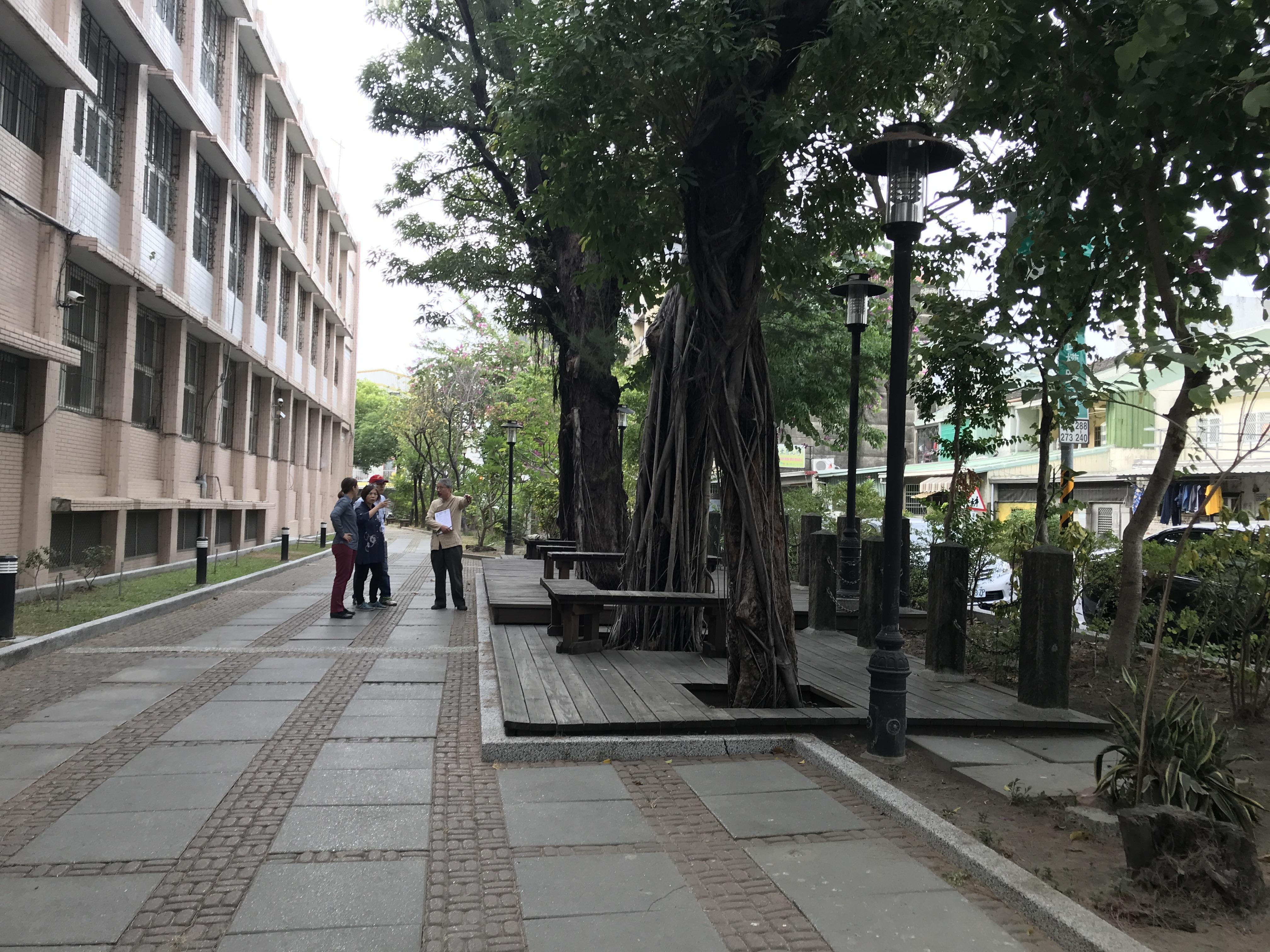校園景觀類第一名-中西區協進國小「好望角步道」