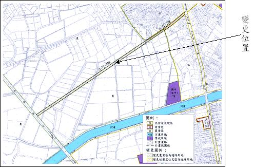 變更台南市主要計畫(部分住宅區、農業區為道路用地)案開始公開展覽  0