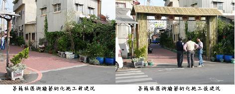 『健康學區大步走』-地區環境改造工程系列報導-菩薩社區發展協會『菩薩社區街牆藝術化』改造成功的案例   0