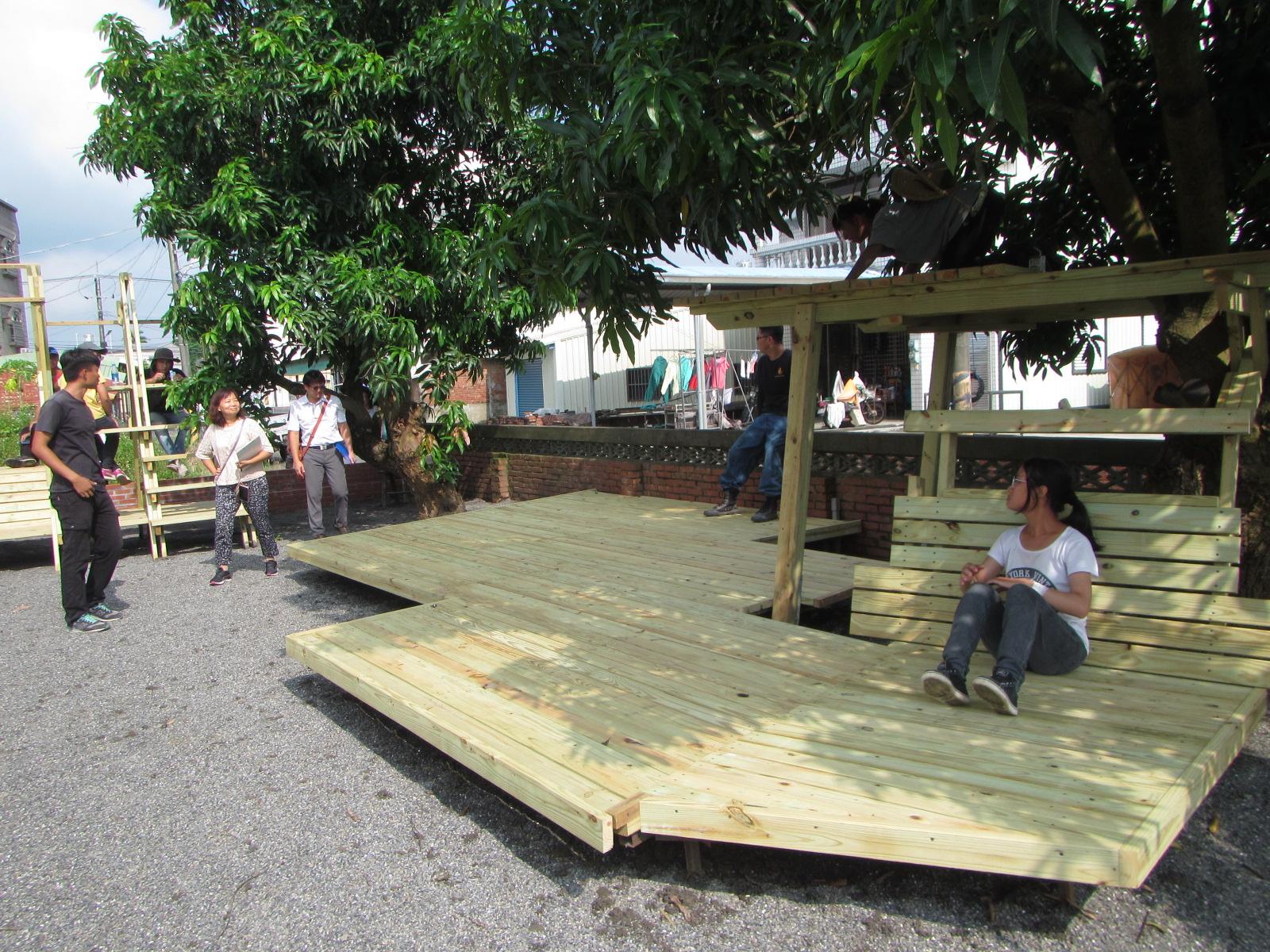 後壁嬉遊境學堂以木構及老屋活化改造為議題 嘗試打造共創空間