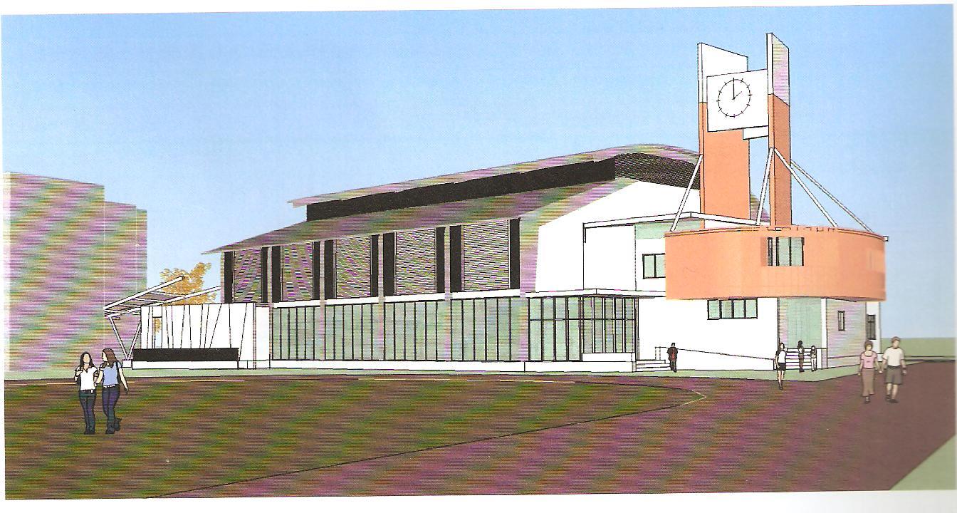 「海佃國中風雨球場新建工程」都市設計審議通過了!  0