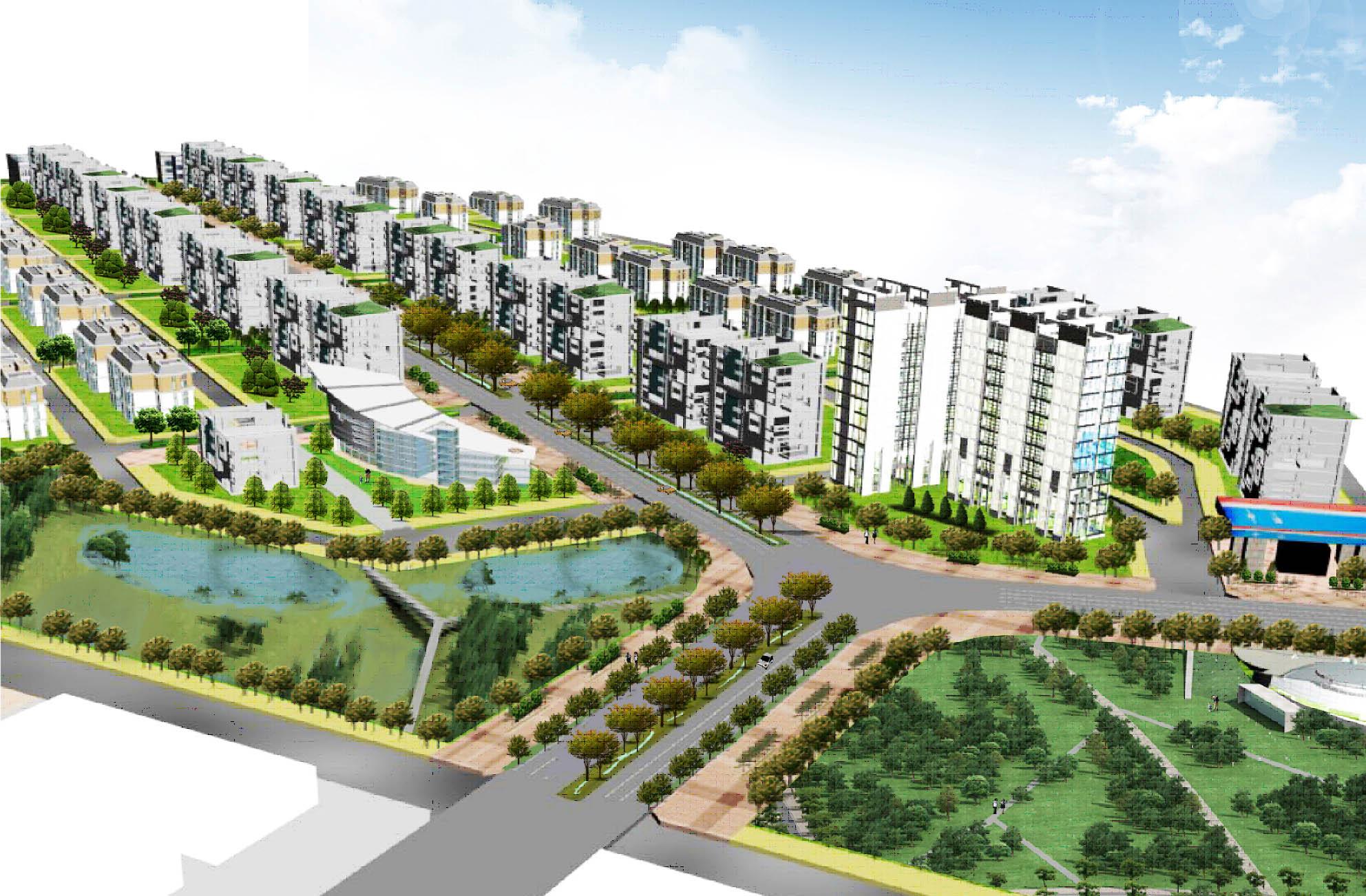 新一代生態、綠能簇群住宅社區典範將在安南區草湖寮住宅區展現