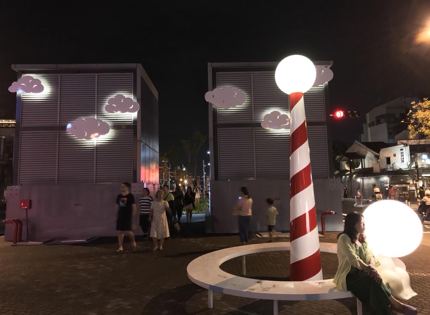 海安路結合藝術街道空間