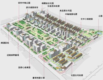 平實營區、精忠三村地區都市計畫案發布實施